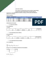 Metodología para la realización de los cálculos