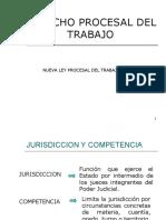 JURISDICCIÓN Y COMPETENCIA DEL PROCESO LABORAL(1)