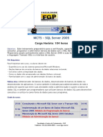 07 - SQL Server 2005 - 3 cursos