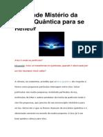 Física Quântica para se Refletir-O Grande Mistério da.pdf