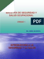 maestria de seguridad industrial y salud ocupacional