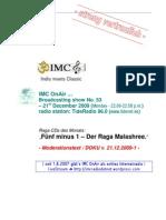 Moderation Script (12/2009)