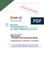 Moderation Script (02/2009)