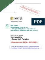 Moderation Script (04/2009)