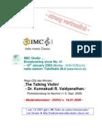 Moderation Script (01/2009)