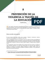 prevencion de la violencia