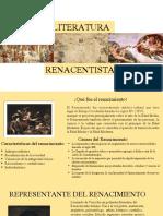 LITERATURA DEL RENACIMIENTO GRADO 11