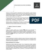 Contrato de prestación de servicios de Auditoría