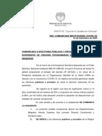COMUNICADO SUSPENSION DE CIRUGIAS E INTERNACIONES NO URGENTES (1).pdf