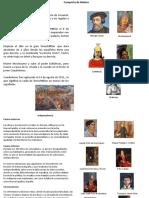 proyecto integrador Conquista de México