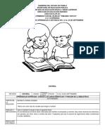 PRIMER CICLO_CUADERNILLO DE APRENDIZAJE 14-25 DE SEPTIEMBRE