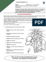 N° 21- RELIGIÓN-LOS DIEZ MANDAMIENTOS (1)