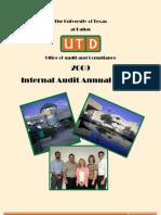 AnnualInternalAuditReport2009[1]