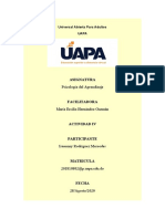 Actividad IV de Psicologia del Aprendizaje.docx