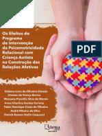 eBook Os Efeitos Do Programa de Intervencao Da Psicomotricidade Relacional Com Crianca Autista Na Construcao Das Relacoes Afetivas 1