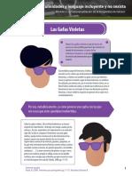 Las gafas violetas