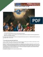 (597) El Espíritu Santo- 2. el Amor entre el Padre y el Hijo
