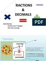 fractions and decimals (FINAL)