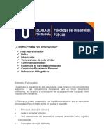 Portafolio estructura psicologia del desarrollo