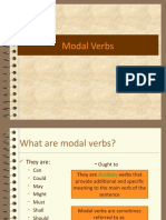 Modals in English
