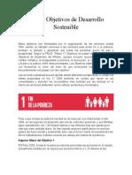 Los 17 Objetivos de Desarrollo Sostenible