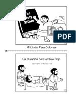 La Curación del Hombre Cojo_librito para colorear