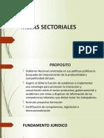 PresentacionMesasSectoriales