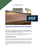 FABRICACION DE GUITARRA ELECTRICA
