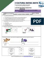 ES134  IDENTIFICA  EL SIGNIFICADO Y EL USO  DE LAS PALABRAS POLISÉMICAS.