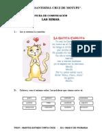 FICHA DE COMUNICACIÓN RIMAS