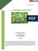 Guar Seed Report - 2010-2011