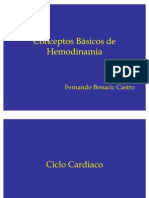 1.1 Conceptos Básicos de Hemodinamia