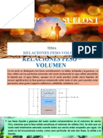 Relaciones peso y volumen
