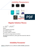 Ideal Solubility Parameters