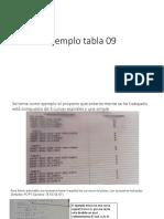 Ejemplo tabla 09