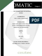 Informe Tenpomatic Grupo4  Decision 7