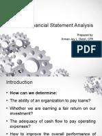 Financial Statement Analysis - Updated