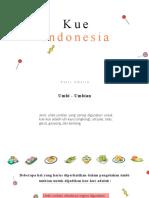 MEDIA 3.6 KUE INDONESIA DARI UMBI UMBIAN DAN KACANG KACANGAN