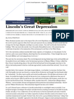 Lincoln's Great Depression