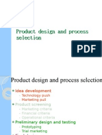 process design and selection