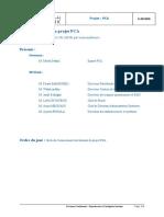 Réunion de suivi du projet PCA11052020v1.0