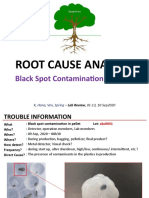 Black Spot Contamination in Pellet