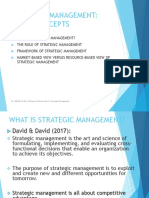 STRATEGIC MANAGEMENT ESSENTIALS 1