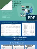 Green and Blue Illustrative Technology Pitch Deck Presentation