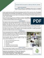85415Student Project & Internship Training Brochure