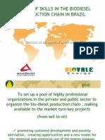 Biodiesel Partnership Proposal in Brazil