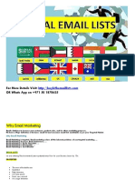 How to Do Email Marketing, Free Email Marketing Lists , Email Marketing Database, Email Marketing for Business
