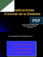 3.3 Complicaciones crónicas, Dra V. Tapia