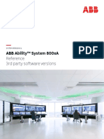 3BUA000500-610_B_en_System 800xA 6.1 Reference - Third Party Software Versions