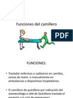 Funciones del camillero